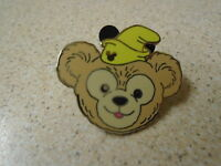 Disney's Duffy Bear Dumbo Hat Hidden Mickey  Pin  Badge