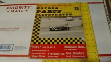 Vintage 1964 Speed Shop Drag Racing Nhra Hot Rod Parts Scta Custom Moon Bell