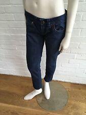 Guess Donna Strass a Tre Quarti Skinny Jeans in Denim SZ 27