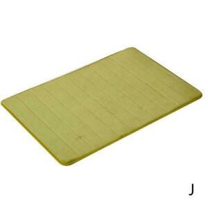 Absorbent Memory Foam Carpet Bath Bathroom Bedroom Rug Non Slip  Shower Mat