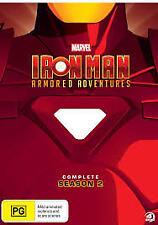 Iron Man Armored Adventures - Season 2 DVD [New/Sealed]
