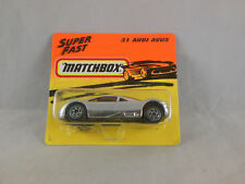 Matchbox Superfast MB - 31 Audi Avus in Chrome Made in Thailand 1993