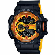 OFFICIAL Casio G-SHOCK BLACK×YELLOW GA-400BY-1AJF / AIRMAIL with TRACKING