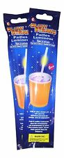 18pcs GLOW IN THE DARK LIGHT UP GLOWING MOTION PARTY CELEBRATION DRINKING STRAWS