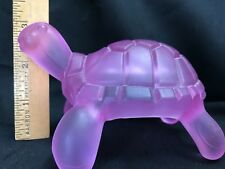 Hand Massager and Body Massage Tool by Back Level Pink/Lavender Turtle