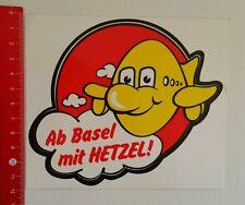 Aufkleber/Sticker: Ab Basel mit Hetzel (10081697)