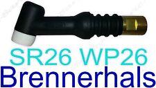 TIG 26 SR 26 WP 26 TIG/WIG Brennerhals Brennerkörper SR26 TIG26 WP26 5XT Head