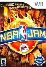 NBA Jam (Nintendo Wii, 2010) Disk + Case