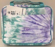 Pottery Barn Teen PBteen JET-SET COOL TIE DYE MAKEUP Travel Case Bag Mono *Ella
