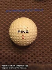PING GOLF BALL-OLD PING KARSTEN I....RED PING #2...90..