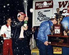DALE EARNHARDT SR 1987 CUP CHAMPION CLOSE UP SHOT 8X10 GLOSSY PHOTO #7SA