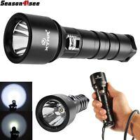 XTAR D06 Scuba Diving Flashlight Cree XM-L2 U2 LED 900 Lumen 18650 Dive Torch