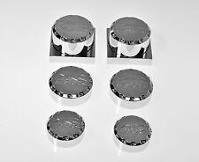 GSXR GSX-R 1000 05-08 05 06 07 08 CHROME BALL CUT AXLE DRESS UP KIT CAPS 304SG