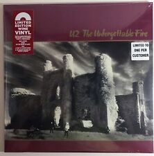 U2 - The Unforgettable Fire   -  LP - Rare HMV Wine Coloured Vinyl Reissue - New