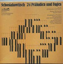 Shostakovich Shostakovich Präludien scanalature Nikolajewa 3 LP 1st EURODISC 86199