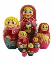 Dolls Russian Emboitables Matrioch-La Farm