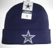Dallas Cowboys Knit Hat Beanie Toque NFL NWT Authentic Navy
