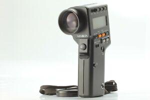 """NEAR MINT "" Minolta Spot Meter F Digital Light Exposure Meter JAPAN #1347"