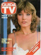 rivista GUIDA TV ANNO 1979 NUMERO 12 JANET AGREN