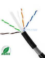 CAT6 OUTDOOR PURE COPPER DOUBLE JACKET 1000FT UTP CABLE DIRECT BURIAL WATERPROOF