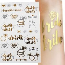 25 Hen Party Tattoos and Bride Temporary Hen Do Accessories Polka Dot Sky UK
