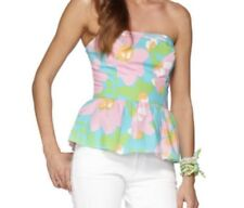 Lilly Pulitzer Spring Flower Top Womens Size 0