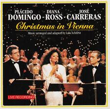 Placido Domingo, Diana Ross & José Carreras: Christmas in Vienna (CD)