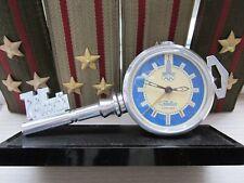 Vintage Watches Mechanical Alarm Clock Slava Key Olympiad 80 Rare Stones Soviet