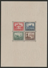 Germany 1930, Block 1, IPOSTA, MNH Ideal condition