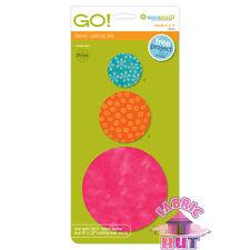 "Accuquilt GO! Fabric Cutter Die 2"", 3"", 5"" Circles Quilt Sew 55012"