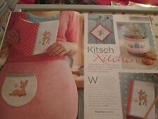 """""""KITSCH KITCHEN"""" Lucie Heaton cross stitch chart (uniquement)"""