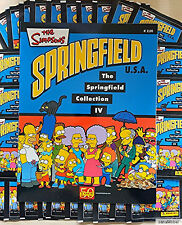 Die Simpsons - The Springfield Collection IV - Stickeralbum + 50 Stickertüten