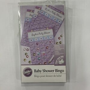 Wilton 1003-1071 Baby Shower Bingo Game