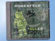 ALLES Rosenfels CD Sven Brandes SIGNIERT Michael Röhl  AUTOGRAMM Rarität OOP