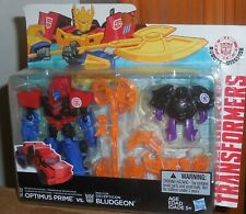 Transformers Robots In Disguise OPTIMUS PRIME BLUDGEON Mosc Rid 2015