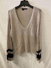 360Sweater Women's Dune Galaxy Small S Deep V Sweater
