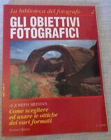 LA BIBLIOTECA DEL FOTOGRAFO nr. 2 - OBIETTIVI FOTOGRAFICI - Ed. Reflex 1992/93