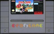 MONOPOLY Super Nintendo SNES Versione Americana NTSC ○○○○○ COMPLETO