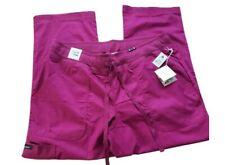 Koi Raspberry Comfort Morgan Scrub Pants Plus Size 2X Petite Roll It Up Or Down