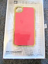 TRIBECA NYC COLLECTION GENUINE LEATHER CASE FOR IPHONE 4 4S