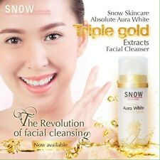 Snow Skincare Absolute Aura White Triple Gold Extracts Facial Cleanser 80 g