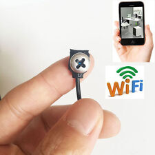 network wireless WIFI spy IP HD mini tiny DIY screw hidden camera DVR recorder