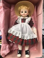 "Vintage McGuffey Ana Madame Alexander Doll 13"" Comes With Original Box #1525"