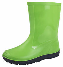 Boys Girls Wellington Boots Kids Rain Snow Boots Warm Winter Wellies Shoes Size