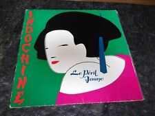 VINYL 33 TOURS INDOCHINE - LE PERIL JAUNE 1983
