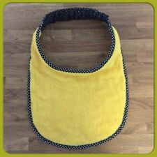 Newfoundland Big Dog drool slobber bib large breed Plain Yellow Towelling