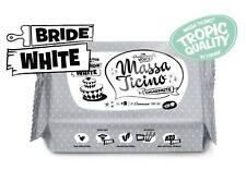 Massa Ticino Fondant Tropic White Weiß 1kg