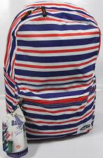 "OLYMPIA USA Cornell 18"" laptop Backpack- NEW- flag Stripe book bag- Protecflon"