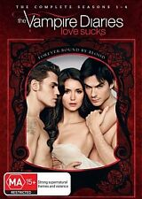 The Vampire Diaries Complete Season Series 1, 2, 3 & 4 DVD Box Set R4 new 1 - 4