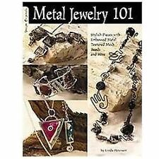 Metal Jewelry 101: Stylized Pieces with Embossed Metal, Textured Mesh Beads, and